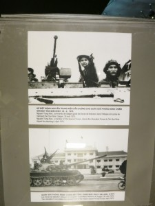 Images of being close to victory over the U.S. in 1975. Bottom of the captions are in english.
