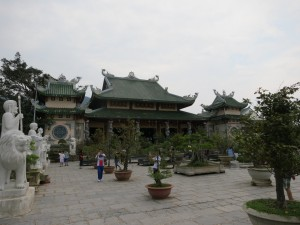 Buddhist temple in Da Nang