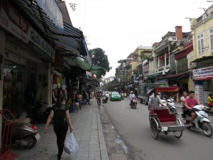 Street in Ha Noi.